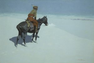 Reproduction oil paintings - Frederic Remington - The Scout, Friends or Foes