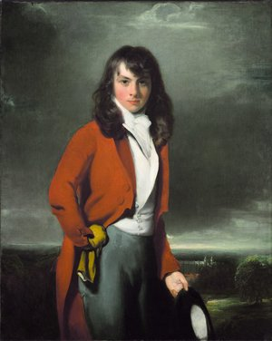 Reproduction oil paintings - Sir Thomas Lawrence - Portrait of Arthur Atherley as an Estonian