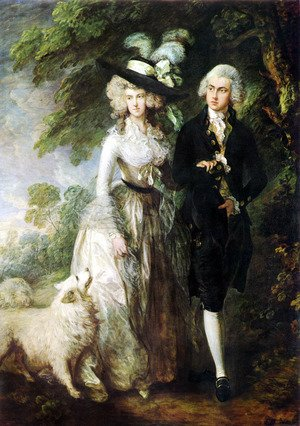 Reproduction oil paintings - Thomas Gainsborough - Mr and Mrs William Hallett