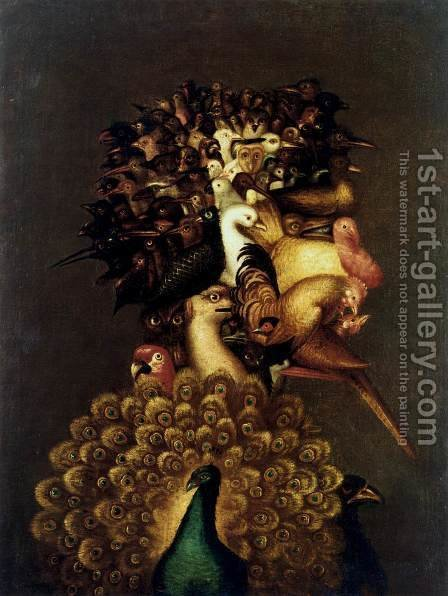 Air by Giuseppe Arcimboldo - Reproduction Oil Painting