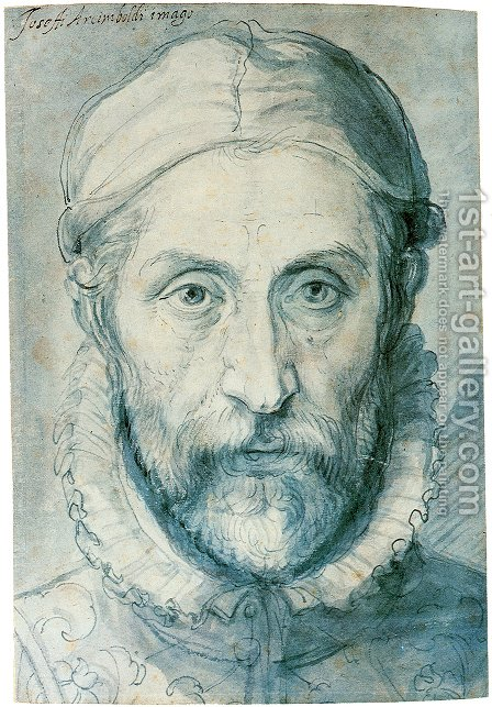 Self Portrait by Giuseppe Arcimboldo - Reproduction Oil Painting