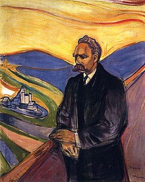 Reproduction oil paintings - Edvard Munch - Friedrich Nietzsche