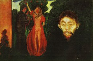 Reproduction oil paintings - Edvard Munch - Jealousy 1895