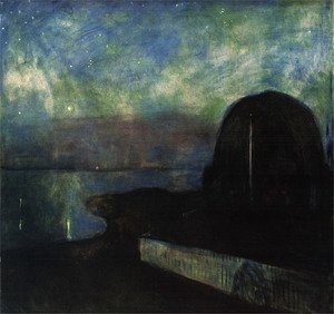 Starry night 1893