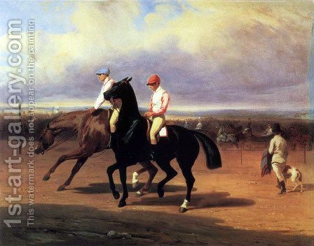 Riders by Alfred Dedreux - Reproduction Oil Painting