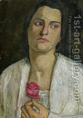 Huge version of The Sculptress Clara Rilke-Westhoff 1878-1954