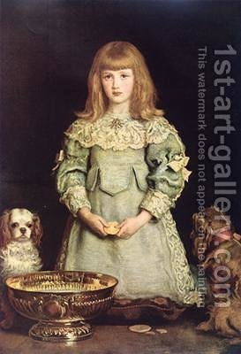 Dorothea Thorpe 1882 by (after) Millais, Sir John Everett - Reproduction Oil Painting