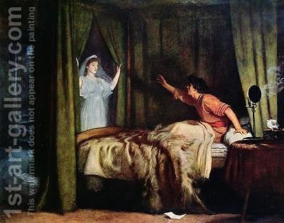 The Apparition by (after) Millais, Sir John Everett - Reproduction Oil Painting