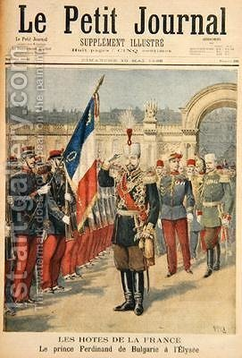 Prince Ferdinand 1861-1 illustration from Le Petit Journal 10 May 1896 by Henri Meyer - Reproduction Oil Painting