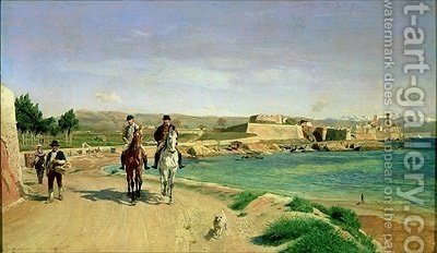 Huge version of Antibes the Horse Ride 1868