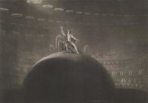 Reproduction oil paintings - John Martin - Satan on his Throne illustration from Paradise Lost