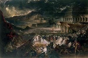 Reproduction oil paintings - John Martin - The Fall of Nineveh