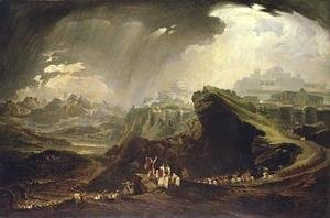 Reproduction oil paintings - John Martin - Joshua Commanding the Sun to Stand Still upon Gibeon 1816