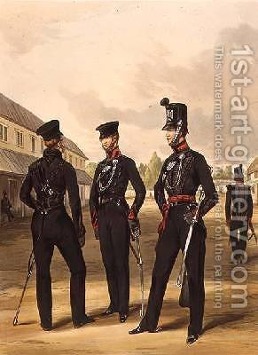 Men of the 60th Rifles by Henry Martens - Reproduction Oil Painting