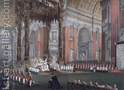 The First Vatican Council 8th December 1869-18th July 1870 by (after) Marchi, Vincenzo - Reproduction Oil Painting