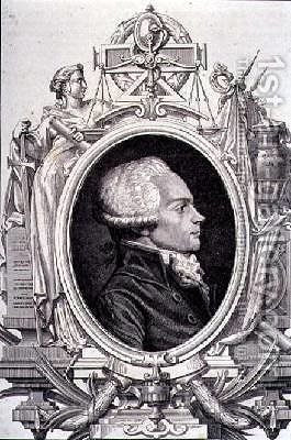 Portrait of Maximilien de Robespierre by (after) Mar, Leopold - Reproduction Oil Painting