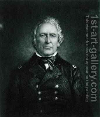 Zachary Taylor by (after) Maguire - Reproduction Oil Painting