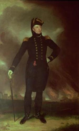 Famous paintings of Men: Portrait of Sir George Cockburn 1851