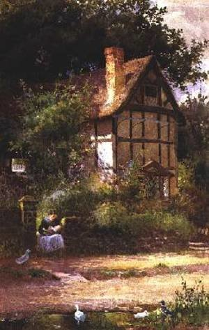 Reproduction oil paintings - Thomas Mackay - The Cottage Door