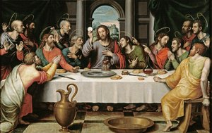 Famous paintings of Religion & Philosophy: The Last Supper