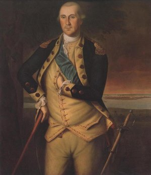 Famous paintings of Men: George Washington 1776