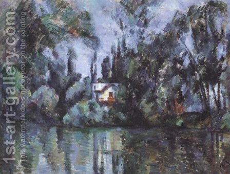 Paul Cezanne: House On The Marne 1888 90 - reproduction oil painting
