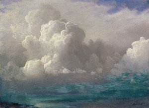Famous paintings of Clouds & Skyscapes: Storm Clouds 1880