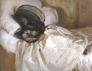 Reproduction oil paintings - Sargent - The Mosquito Net 1912