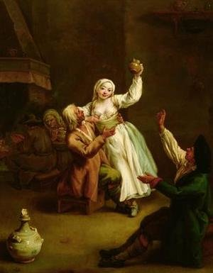 Reproduction oil paintings - Pietro Longhi - The Happy Couple