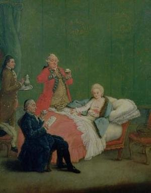 Pietro Longhi reproductions - Early Morning Chocolate