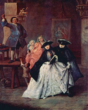 Pietro Longhi reproductions - The Charlatan 1757
