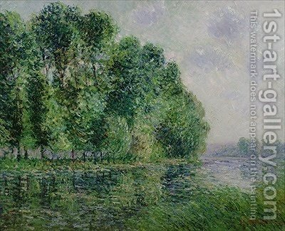 Landscape by the sea by Gustave Loiseau - Reproduction Oil Painting
