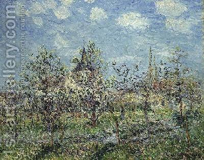 Verger en Fleur l902 by Gustave Loiseau - Reproduction Oil Painting