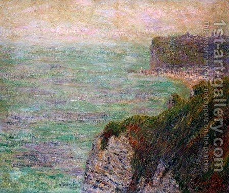 Shadows on the Sea 1920 by Gustave Loiseau - Reproduction Oil Painting