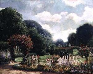 Famous paintings of Summer: A Summer Garden