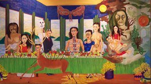 Reproduction oil paintings - Frida Kahlo - The Last Supper
