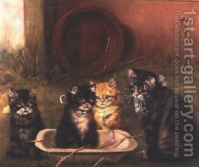 Bath Time by Adrienne Lester - Reproduction Oil Painting