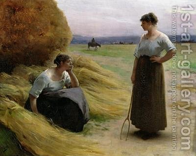 The Harvesters by Henri Lerolle - Reproduction Oil Painting