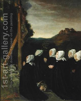 Calvary by Alphonse Legros - Reproduction Oil Painting