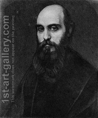 Portrait of William Michael Rossetti by Alphonse Legros - Reproduction Oil Painting