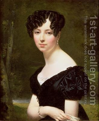 Portrait of Baroness Pontalba by Amelie Legrand de St. Aubin - Reproduction Oil Painting