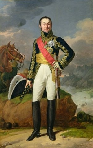 Reproduction oil paintings - Robert-Jacques-Francois-Faust Lefevre - Nicolas-Charles Oudinot 1767-1847 Duke of Reggio