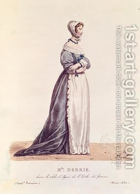 Madame Debrie in the role of Agnes in LEcole des Femmes by Hippolyte Lecomte - Reproduction Oil Painting