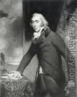 Portrait of Charles Grey by (after) Lawrence, Sir Thomas - Reproduction Oil Painting