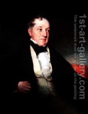 Portrait of Sir Humphry Davy 1778-1829 2 by (after) Lawrence, Sir Thomas - Reproduction Oil Painting
