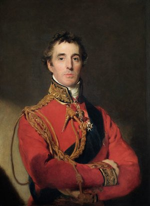 Famous paintings of Portraits: Portrait of Arthur Wellesley 1769-1852