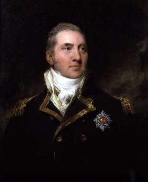Reproduction oil paintings - Sir Thomas Lawrence - Portrait of Admiral Sir Edward Pellew