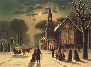 Famous paintings of Christmas: Christmas Eve