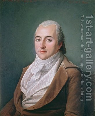 Portrait of Claude Henri de Rouvroy Count of Saint-Simon by Adelaide Labille-Guyard - Reproduction Oil Painting