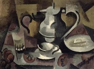 Famous paintings of Teapots: Still Life with Three Handles
